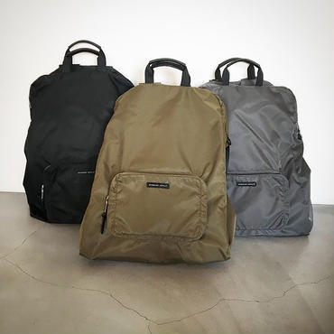 『PACKABLE 3WAY SQUARE PACK/STANDARD SUPPLY』