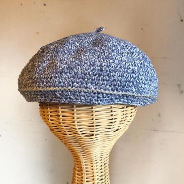 cotton ベレー帽