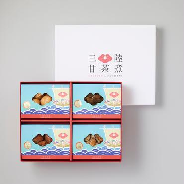 三陸甘茶煮 宝船 4種詰め合わせセット