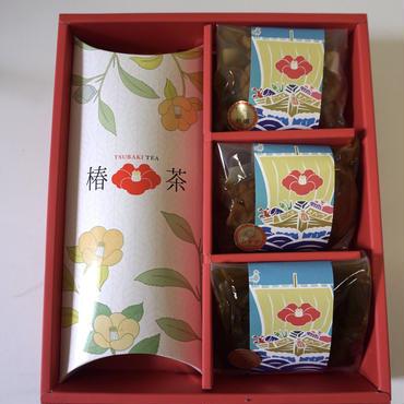 【カメリアセレクト】「椿茶」と「三陸甘茶煮」のセット