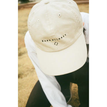 LOGO CAP beige