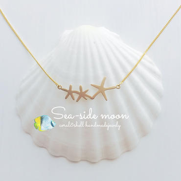 Starfish Necklace(gold)