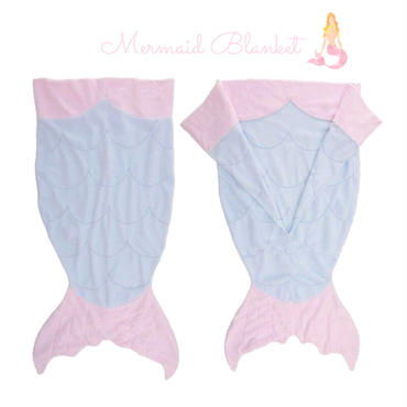 Mermaid  Tail Blanket(SIZE 60×140)