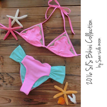 Mermaid Bikini SET(Pink)