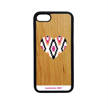 iPhone ラバーケース 【HEART】