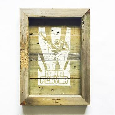 vintage wood board  [PLAY ER]