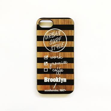 iPhone ラバーケース 【Brooklyn】