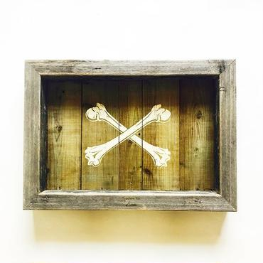 vintage wood board  [BONE]