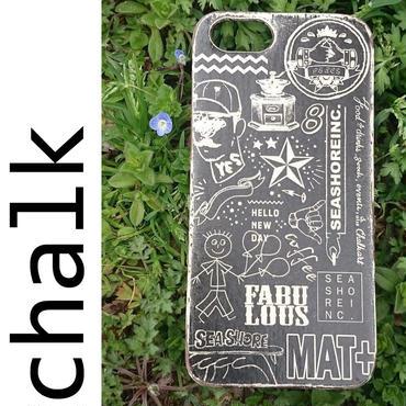 iPhone ラバーケース 【chalk】