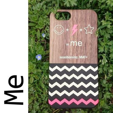 iPhone ラバーケース 【Me】