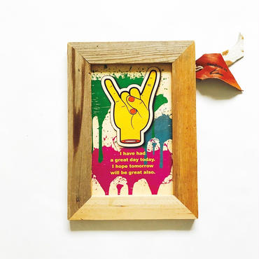 wood board [finger]