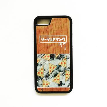 iPhone ラバーケース 【pizza】