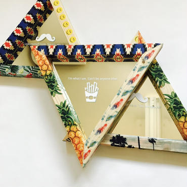 triangle mirror 【pattern】