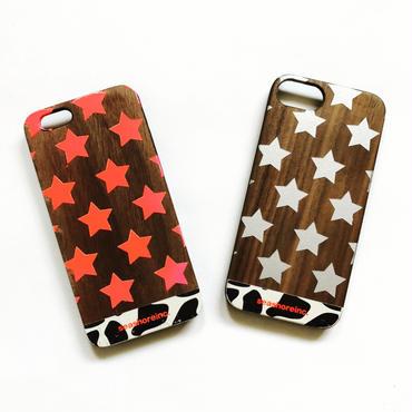 iPhone ラバーケース 【STAR】
