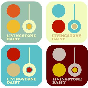 Livingstone Daisy ステッカー・1シート(4枚セット)