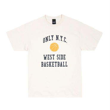 ONLY NY West Side Basketball T-Shirt Natural