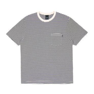 ONLY NY Mercer Stripe Pocket T-Shirt White