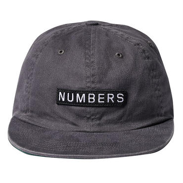 NUMBERS EDITION LOGOTYPE - TWILL 6-PANEL HAT 17909