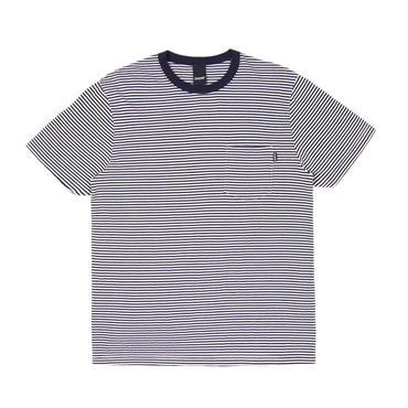 ONLY NY Mercer Stripe Pocket T-Shirt Navy