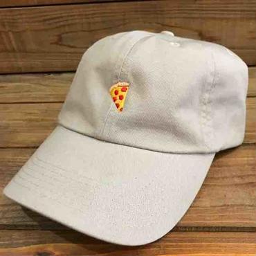 PIZZA SKATEBOARDS Emoji Polo Hat KHAKI