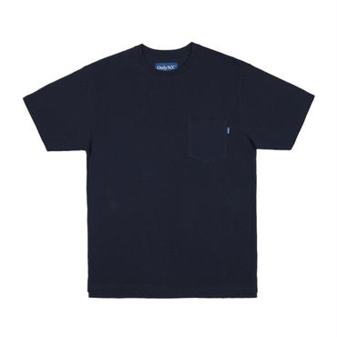 ONLY NY Premium Cotton Piqué T-Shirt Navy