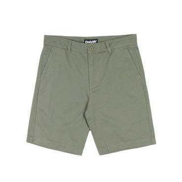 ONLY NY Washed Chino Shorts Olive