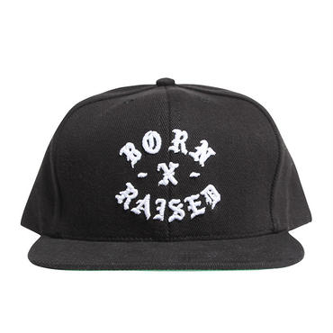 BORN X RAISED ROCKER SNAPBACK 34903