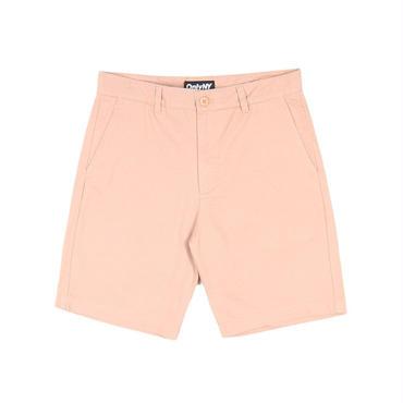 ONLY NY Washed Chino Shorts Salmon