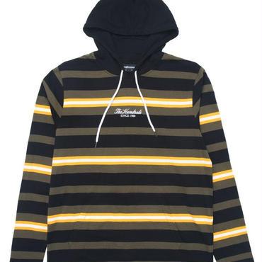 THE HUNDREDS Elmont L/S Hooded Shirt OLIVE