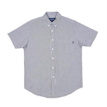 ONLY NY Blue Point Short Sleeve Shirt Hickory Stripe