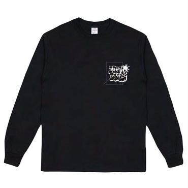 NUMBERS EDITION BOMBED LOGOTYPE-L/S T-SHIRT 15502
