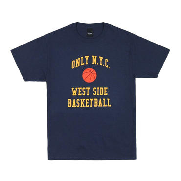 ONLY NY West Side Basketball T-Shirt Navy
