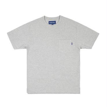 ONLY NY Premium Cotton Piqué T-Shirt Heather Grey