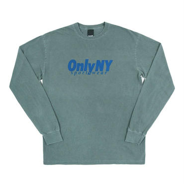 ONLY NY Breakline L/S T-Shirt Emerald