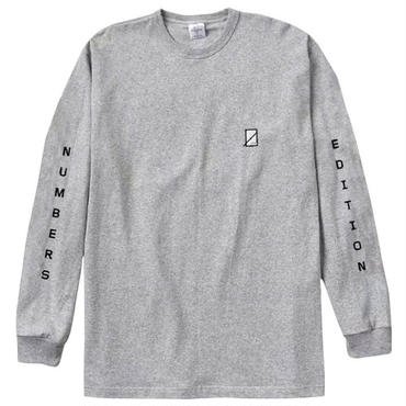 NUMBERS EDITION VERTICAL STACK-PREMIUM L/S T-SHIRT 15501
