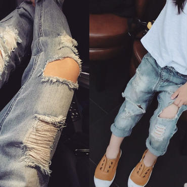 damage denim