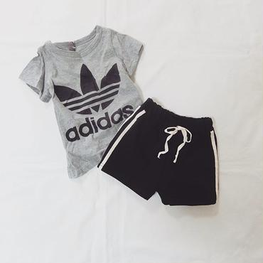 Line short-pants