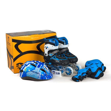 FLYING EAGLE V5 COMBO BLUE プロテクター・ヘルメットセット