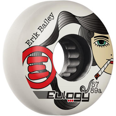 """Eulogy Eric Bailey """"LADY KILLER"""" Pro 57mm 89A 4個セット"""