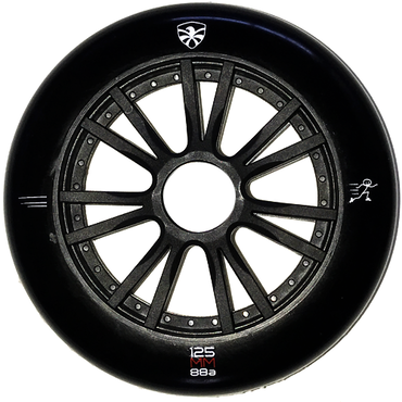 FLYING EAGLE Speed Skate ウィール Black 125mm/88A