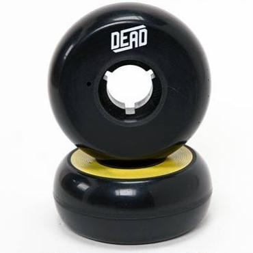 DEAD Wheels Team YELLOW RING 58mm95a 4個セット