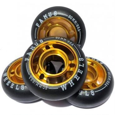 FAMUS Wheels FAST 60mm 88A 4個セット
