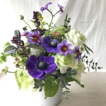 お花の贈り物 アレンジメント ¥5,400(日にち指定をお願いします)