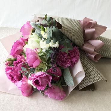 お花の贈り物 花束 ¥3,780(日にち指定をお願いします)
