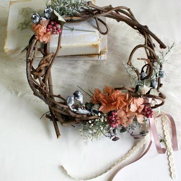 リースブーケ&ブートニア  ribbon girl ¥12,960送料無料