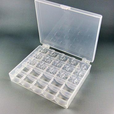 ブラザーミシン ボビン 9.2mm 純正タイプ15個+収納ケース付