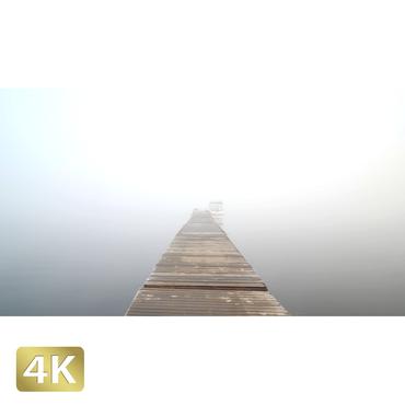 1015032 ■ 山中湖 桟橋 けあらし