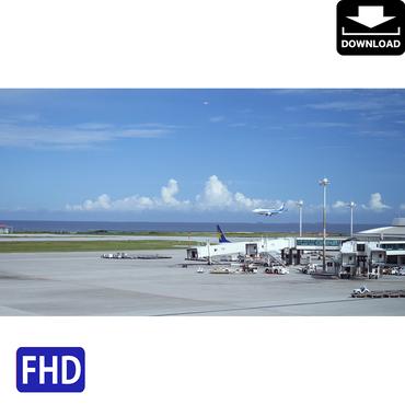 4042005 ■ 沖縄本島 空港 飛行機