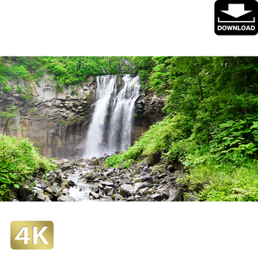 2006001 ■ 北海道 アシリベツの滝