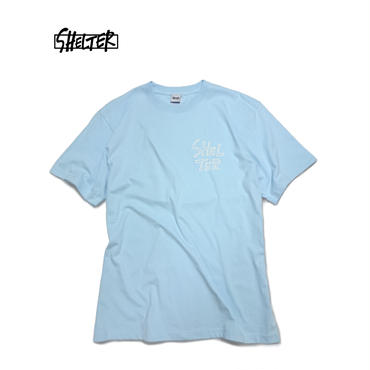 1min Logo  Tee (Light blue)